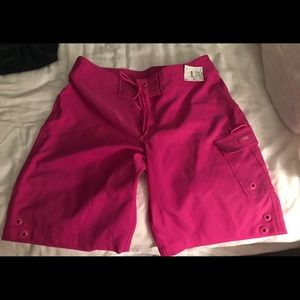 Jag size small swim surf shorts brand new Hot Pink
